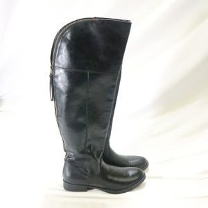 MOSSIMO SUPPLY Co Over Knee Riding Style Boots